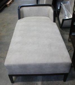100G, Upholstered Chaise Lounge