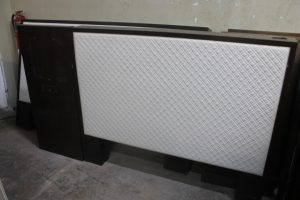 100A, Queen Headboard w Center Panel