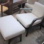 103A, Custom Arm Chair w Ottoman