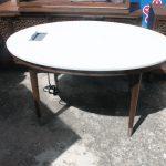 108C, 5' Corian Top Oval Desk